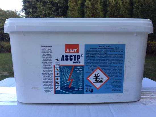 Picture of Ascyp 10 WP 2 kg preparat owadobójczy